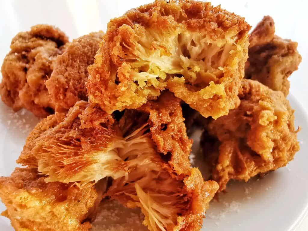 Lion's Mane Mushroom Pakora Vegan Recipe