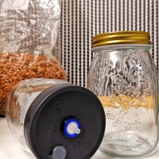 Grain Spawn & Liquid Culture Jars