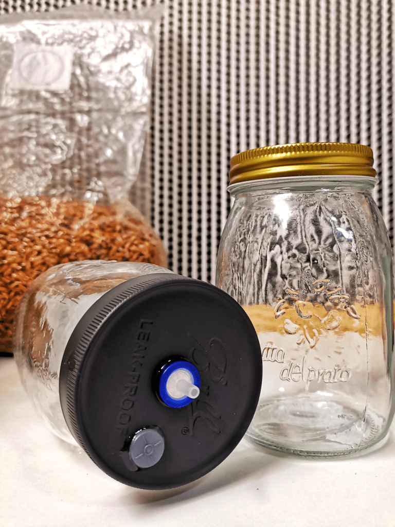 Grain Spawn & Liquid Culture Jars