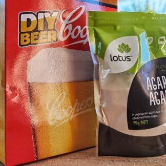 light malt extract and agar